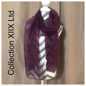 Collection XIIX Ltd beaded scarf